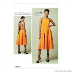 Patron Vogue V1546 : Robe