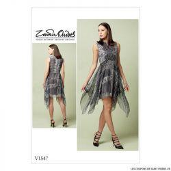 Patron Vogue V1547 : Robe