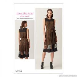 Patron Vogue V1554 : Robe