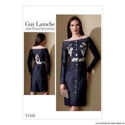Patron Vogue V1559 : Robe