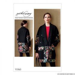 Patron Vogue V1563 : Veste