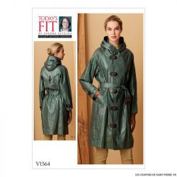 Patron Vogue V1564 : Manteau et ceinture