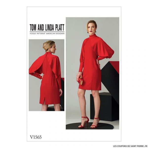 Patron Vogue V1565 : Robe