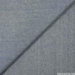 Jean's coton fin bleu délavé