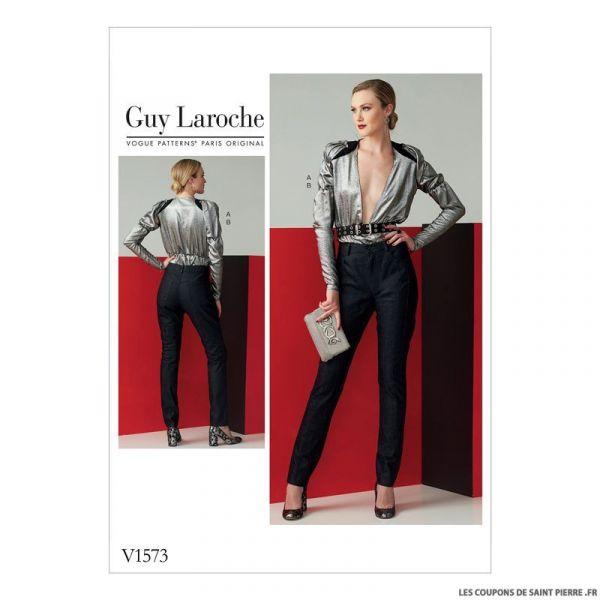 Patron Vogue V1573 : Haut et pantalon