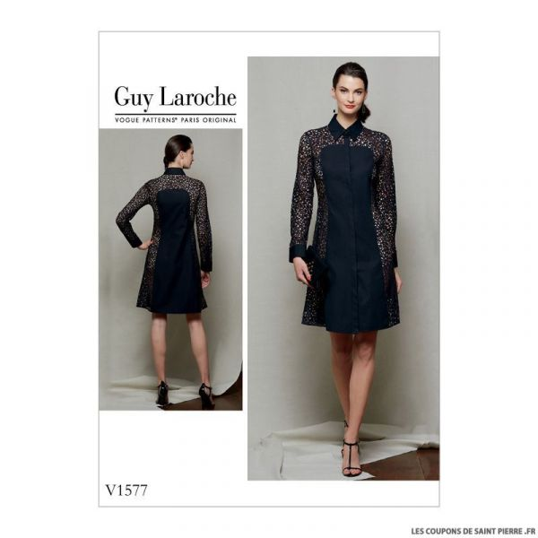 Patron Vogue V1577 : Robe