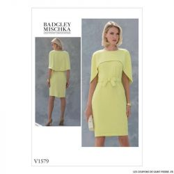 Patron Vogue V1579 : Robe