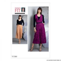 Patron Vogue V1580 : Pantalon