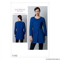 Patron Vogue V1582 : Veste