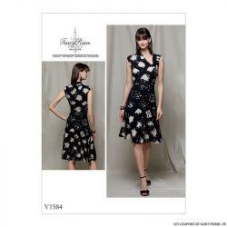 Patron Vogue V1584 : Robe