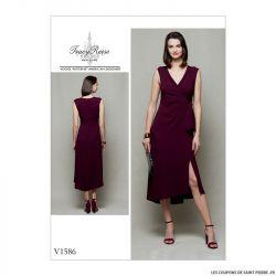 Patron Vogue V1586 : Robe