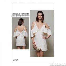 Patron Vogue V1587 : Robe