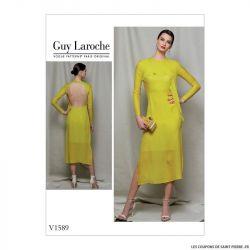Patron Vogue V1589 : Robe