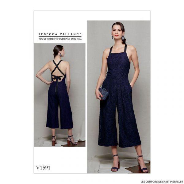 Patron Vogue V1591 : Combinaison