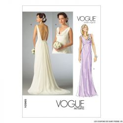 Patron Vogue V2965 : Robe