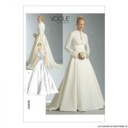Patron Vogue V2979 : Robe