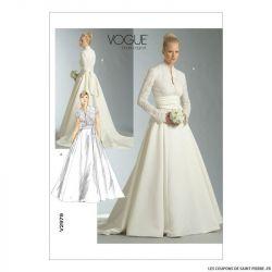 Patron Vogue V2979 : Robe