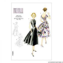 Patron Vogue V1084 : Robe