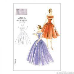 Patron Vogue V1094 : Robe