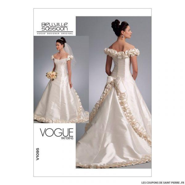Patron Vogue V1095 : Robe