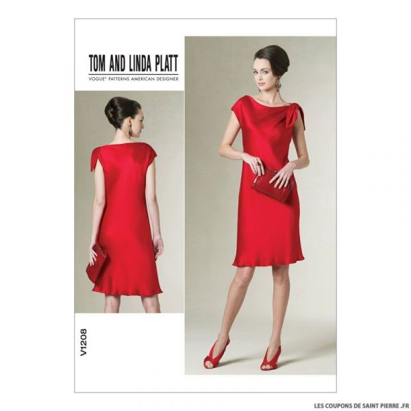 Patron Vogue V1208 : Robe