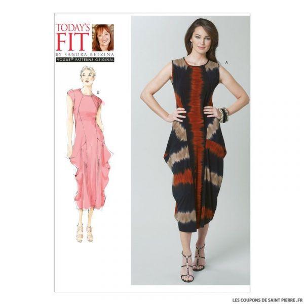 Patron Vogue V1234 : Robe