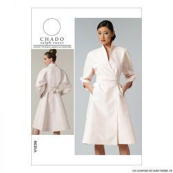 Patron Vogue V1239 : Robe et ceinture