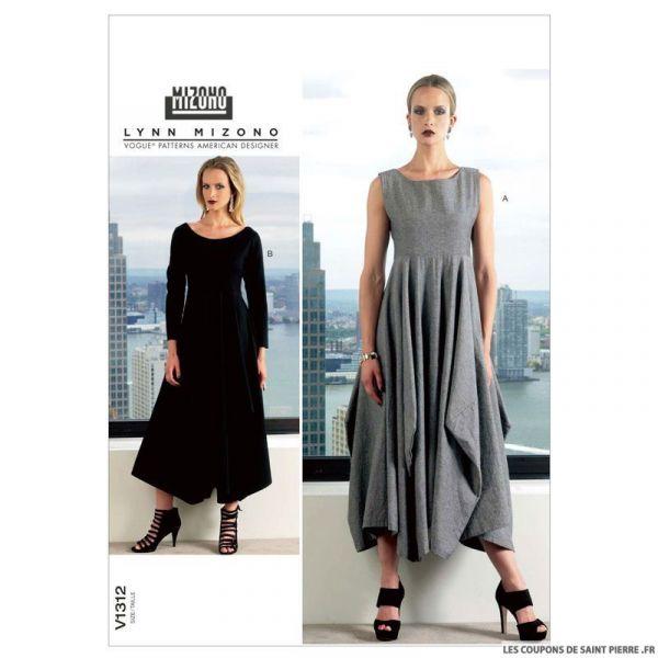 Patron Vogue V1312 : Robe
