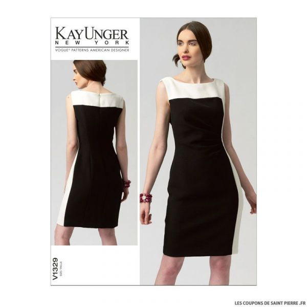 Patron Vogue V1329 : Robe