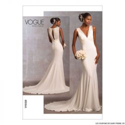 Patron Vogue V1032 : Robe