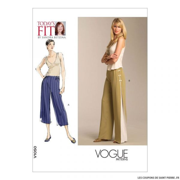 Patron Vogue V1050 : Pantalon
