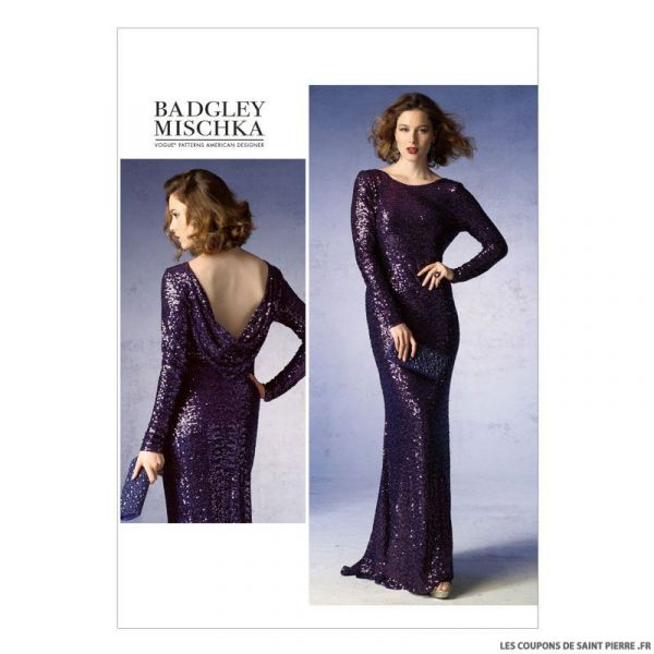 Patron Vogue V1374 : Robe