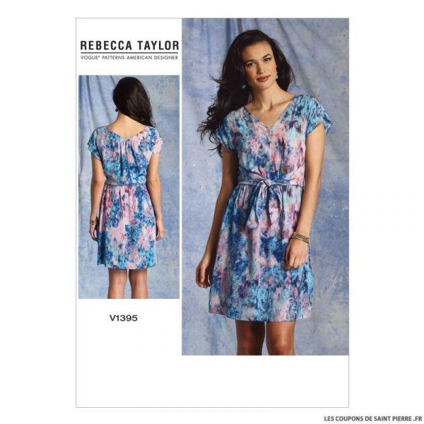 Patron Vogue V1395 : Robe