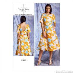 Patron Vogue V1397 : Robe