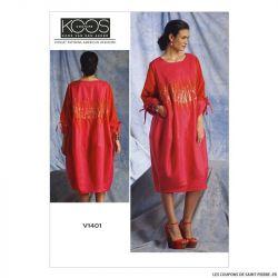 Patron Vogue V1401 : Robe