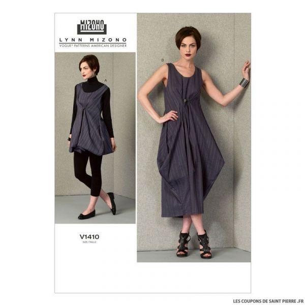 Patron Vogue V1410 : Robe