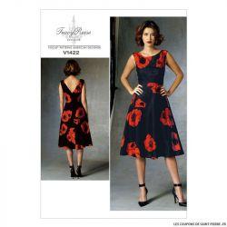Patron Vogue V1422 : Robe