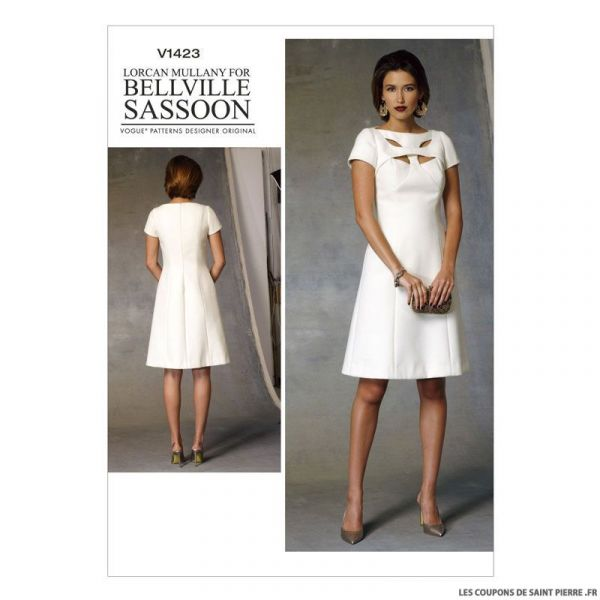 Patron Vogue V1423 : Robe
