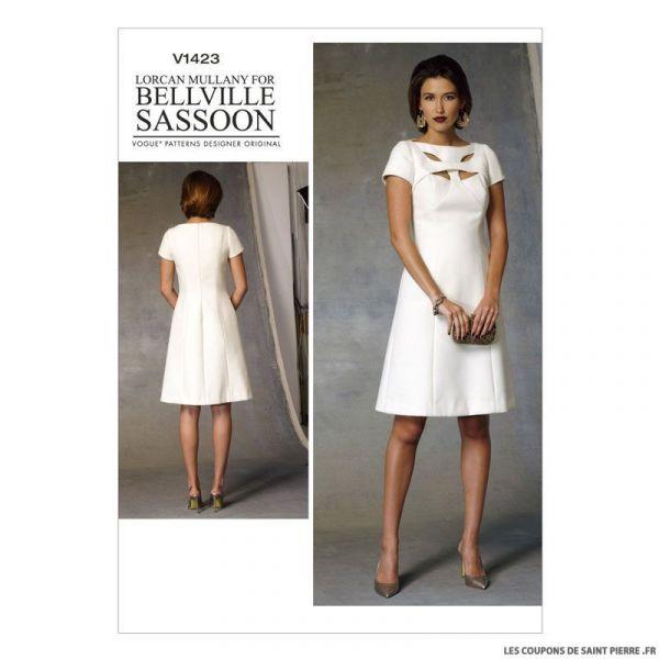 Patron Vogue V1423 : Robe
