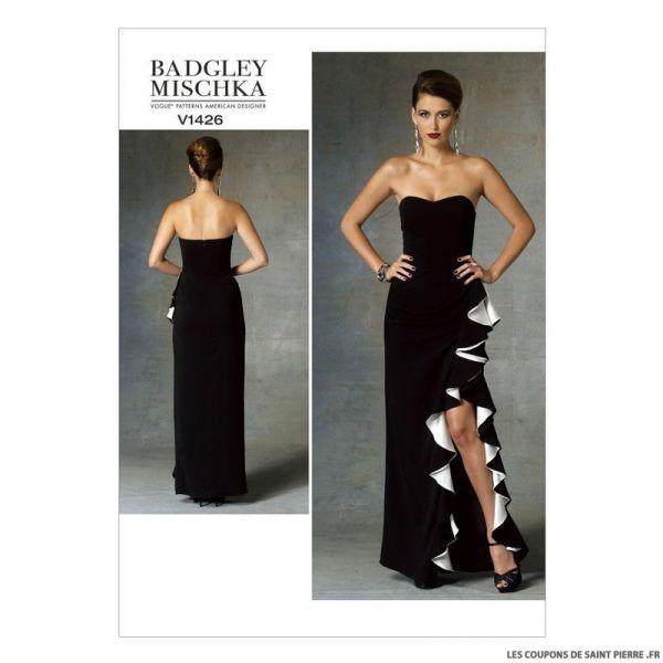 Patron Vogue V1426 : Robe