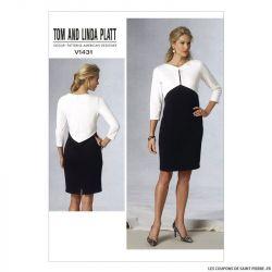 Patron Vogue V1431 : Robe