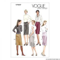 Patron Vogue V7937 : Jupe