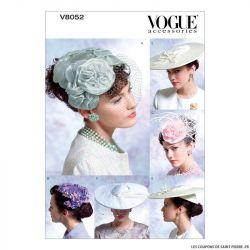 Patron Vogue V8052 : Chapeaux d'époque