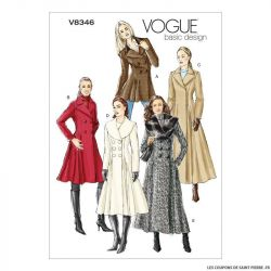 Patron Vogue V8346 : Manteau