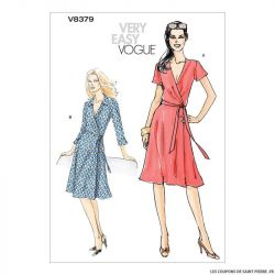 Patron Vogue V8379 : Robe
