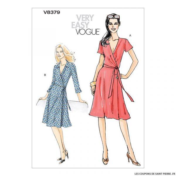 Patron Vogue V8379 : Robe