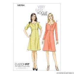 Patron Vogue V8764 : Robe