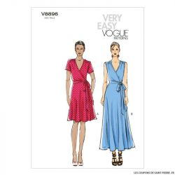 Patron Vogue V8896 : Robe