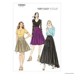 Patron Vogue V8980 : Veste, Robe et ceinture