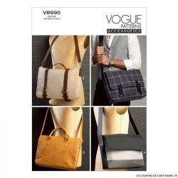 Patron Vogue V8990 : Besace
